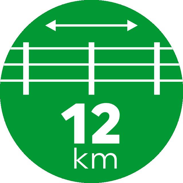 12 km