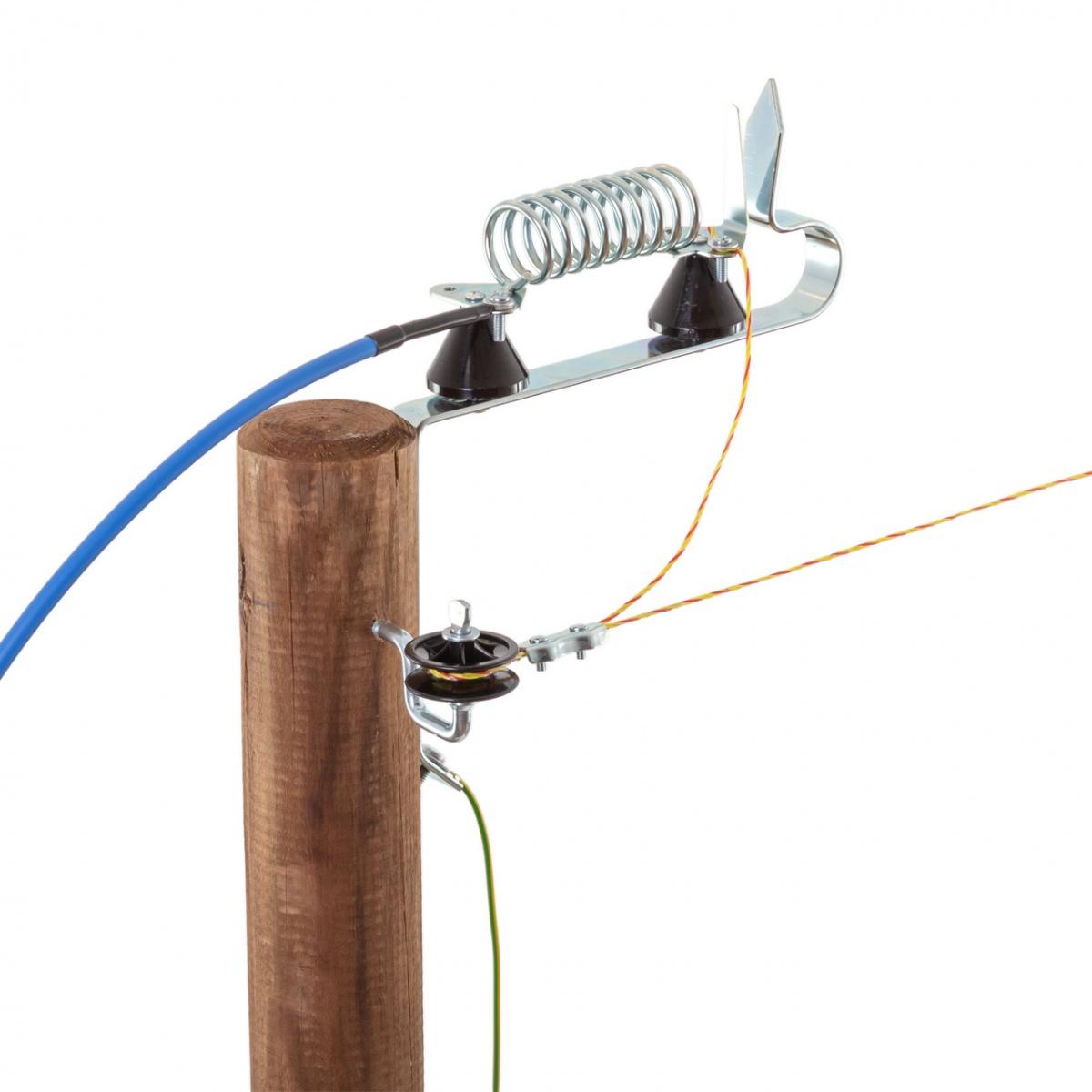 Paratrăsnet gard electric