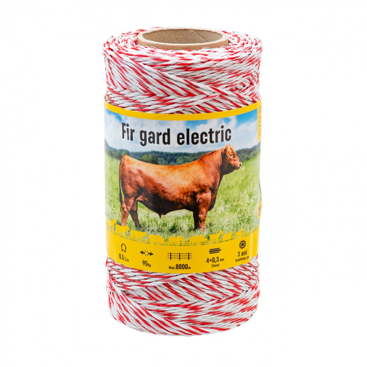 Fir gard electric - 250 m - 95 kg - 0,5 Ω/m