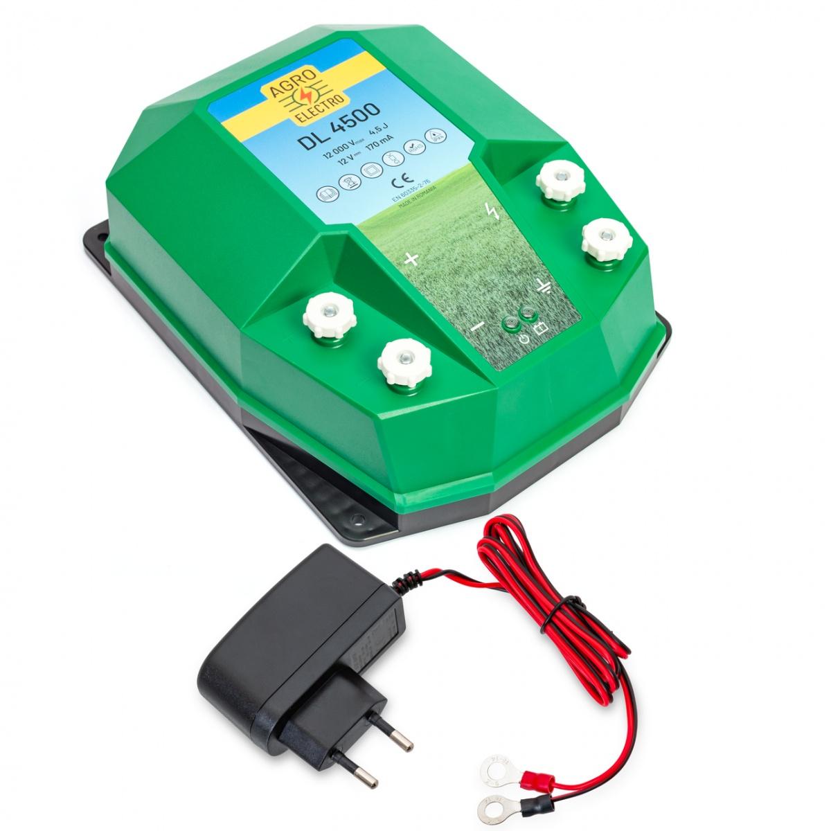 Aparat gard electric DL4500, 4,5 Joule, cu adaptor de rețea 230/12V