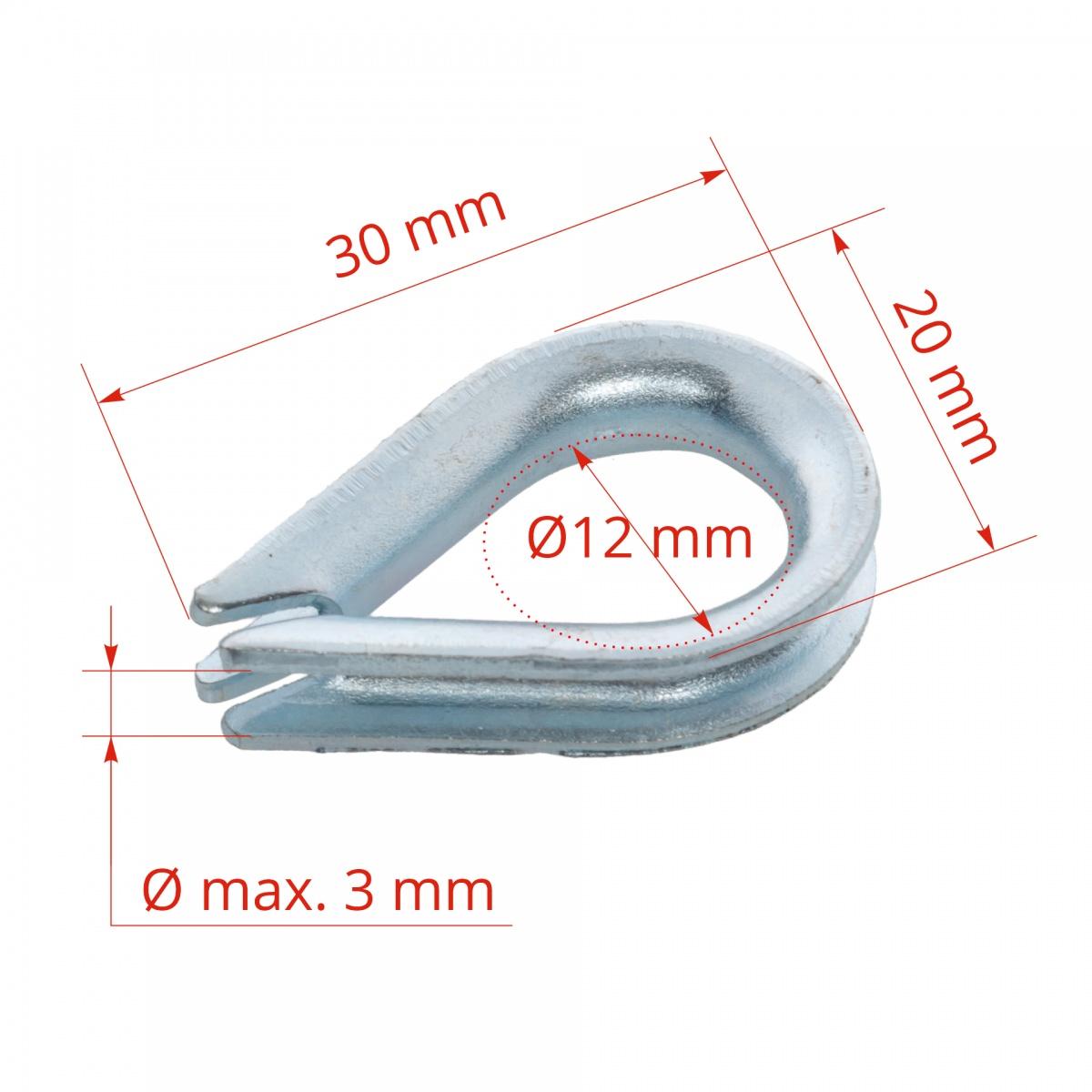 Conector inelar 2-4mm