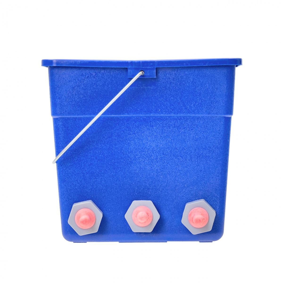 Găleată de alăptare pentru miei și iezi cu 6tetine, 50 mm, 10l