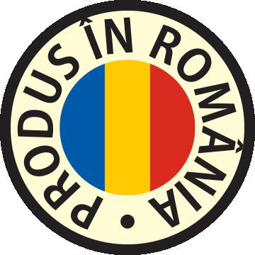 Produs în România