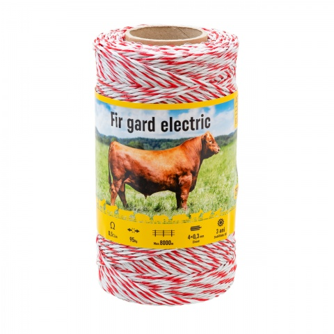 Fir gard electric - 250 m - 95 kg - 0,5 Ω/m<br/>53 Lei<br><small>0298</small>