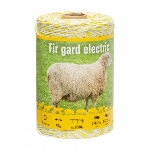 Fir gard electric - 250 m - 90 kg - 0,45 Ω/m<br/>57 Lei<br><small>0131</small>