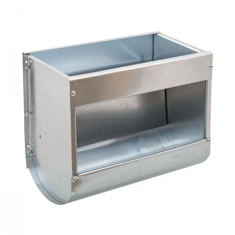 Hrănitoare metalică pentru iepuri, 30cm<br/>53Lei<br><small>0328</small>