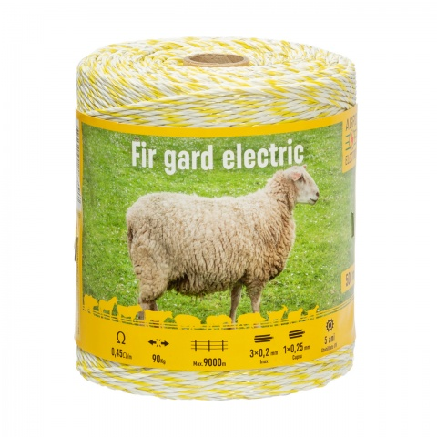 Fir gard electric - 500 m - 90 kg - 0,45 Ω/m<br/>115 Lei<br><small>0132</small>