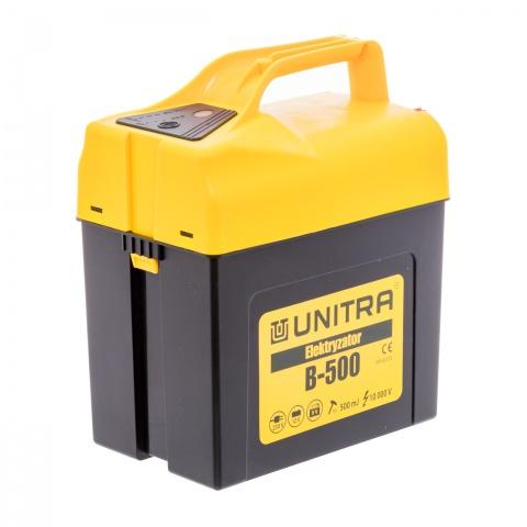 Aparat UNITRA B-500, 9-12V, 0,5Joule