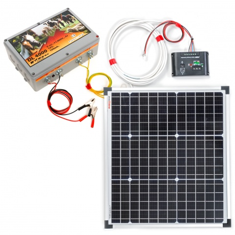 0089-0090 - Aparat DL4000 cu sistem solar 30W - 735Lei
