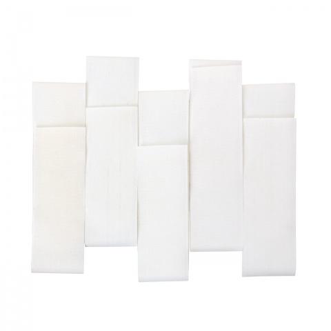 Set brățări de marcaj detașabile pentru vaci, portocaliu + alb, 10buc.
