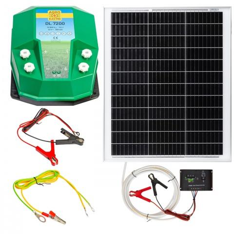 Aparat gard electric DL7200, 7,2Joule, cu sistem solar 50W<br/>1.130Lei<br><small>0224-0202</small>
