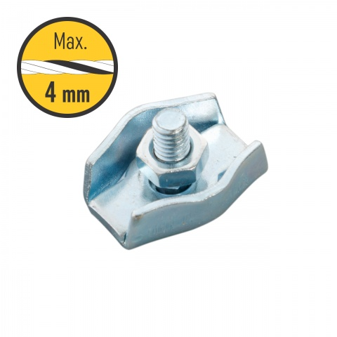 Conector fir 2–4 mm, simplu