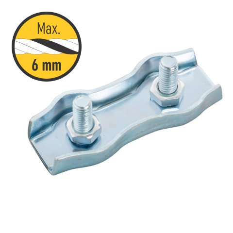 Conector frânghie 4–6 mm<br/>5 Lei<br><small>0118</small>