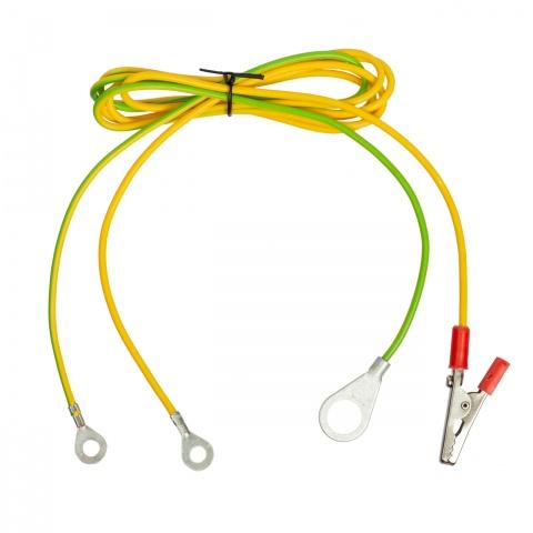 0087 - Cablu conexiune aparat gard electric – gard + împământare - 10Lei