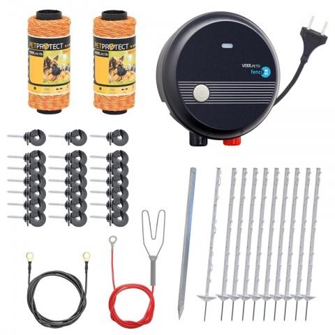 Pachet gard electric pentru câini sau găini<br/>650Lei<br><small>0096</small>