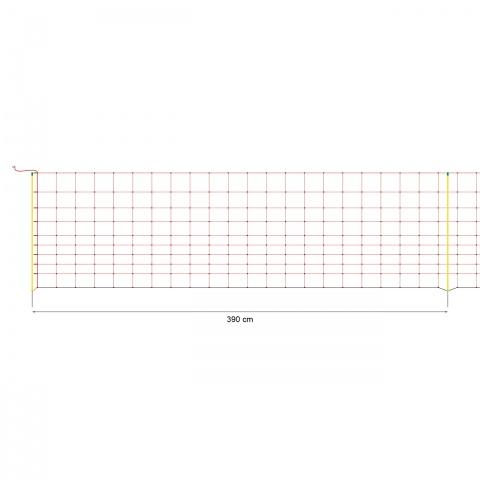 Plasă gard electric 50 m × 108 cm