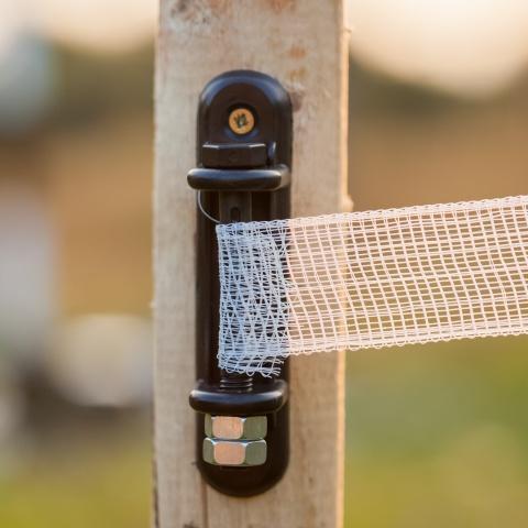 Dispozitiv de întindere bandă gard electric