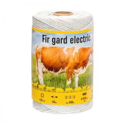 Fir gard electric - 250 m - 65 kg - 4,8 Ω/m