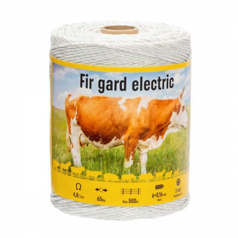 Fir gard electric - 400 m - 65 kg - 4,8 Ω/m<br/>75 Lei<br><small>0186</small>