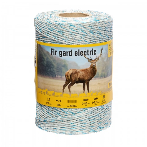 Fir gard electric - 500 m - 130 kg - 0,11 Ω/m<br/>175 Lei<br><small>0190</small>