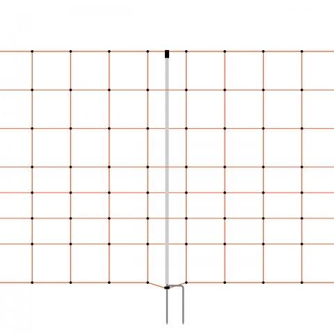Plasă gard electric 50 m × 90 cm