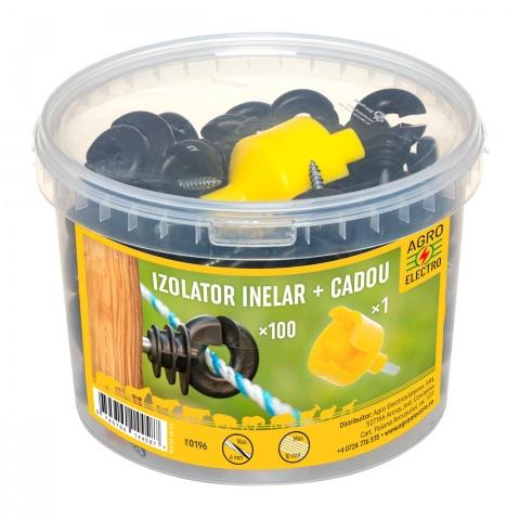 Izolator inelar, 100buc. + dispozitiv de înfiletare<br/>72Lei<br><small>0196</small>
