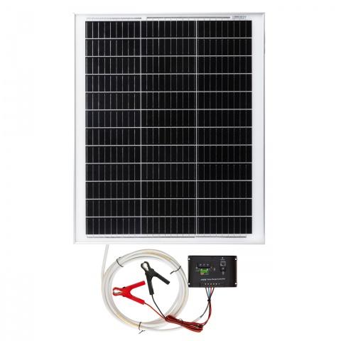 Panou solar monocristalin 50W cu regulator de încărcare<br/>490Lei<br><small>0202</small>