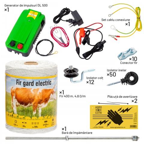 kit-canis-a - Pachet gard electric pentru câini - 459Lei