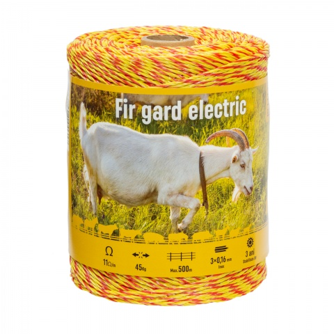 Fir gard electric - 500 m - 45 kg - 11 Ω/m<br/>60 Lei<br><small>0226</small>