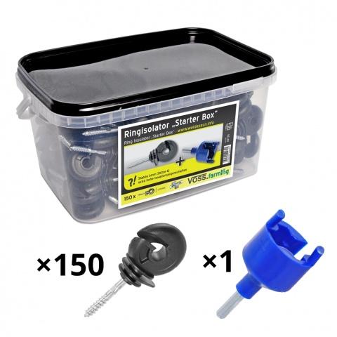 0092 - Izolator inelar, 150buc. + dispozitiv de înfiletare - 130Lei