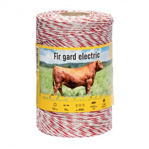 Fir gard electric - 500 m - 95 kg - 0,5 Ω/m<br/>94 Lei<br><small>0251</small>