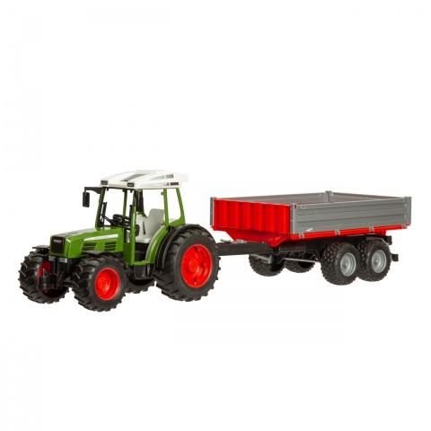 0264 - Tractor Fendt 209S cu remorcă - 125Lei