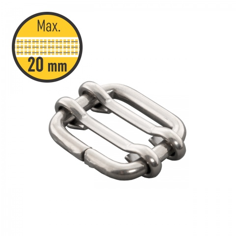 Conector bandă 20mm, 5 buc.<br/>15Lei<br><small>0107</small>