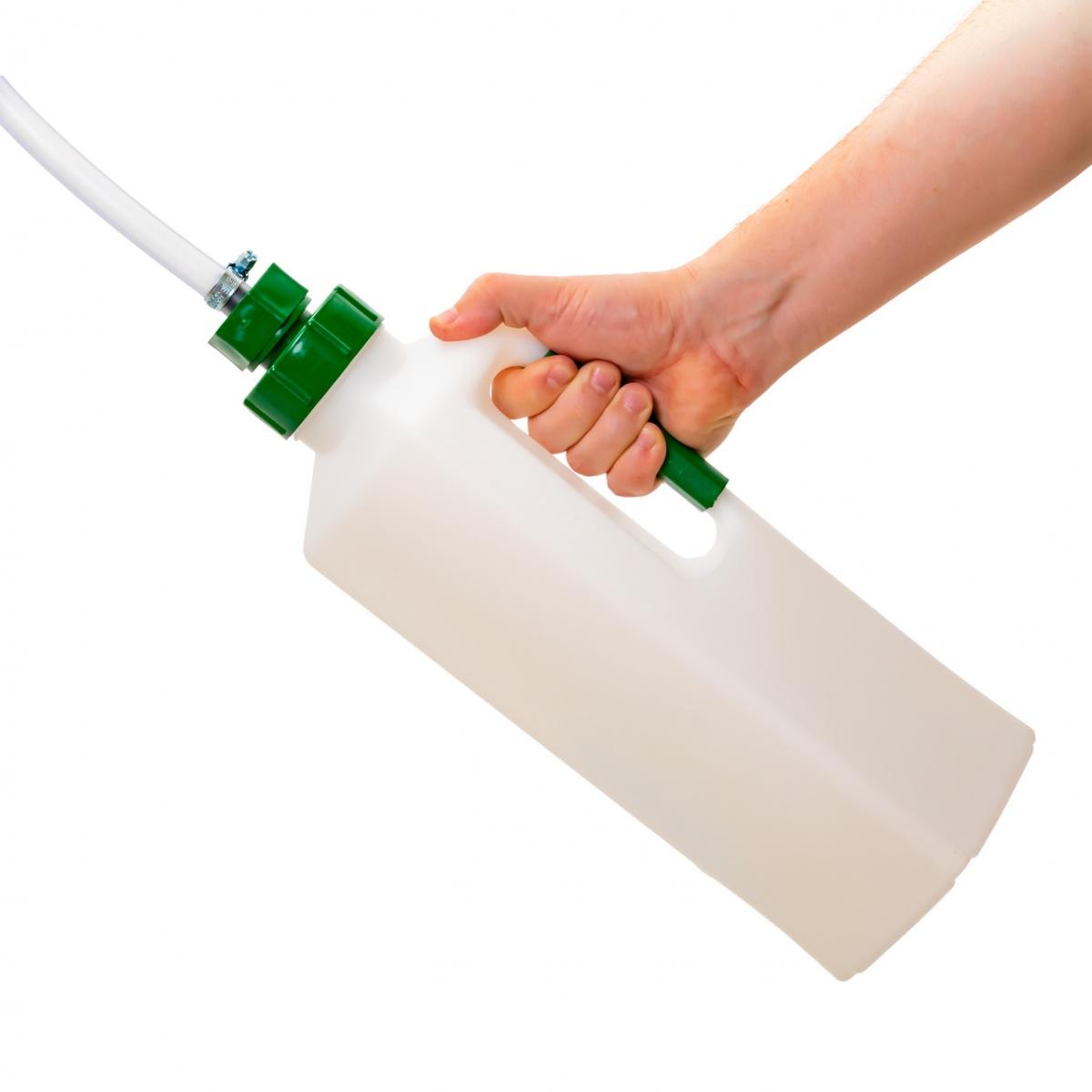 Bidon administrare lichide pentru viței, 3000ml, cu drenaj