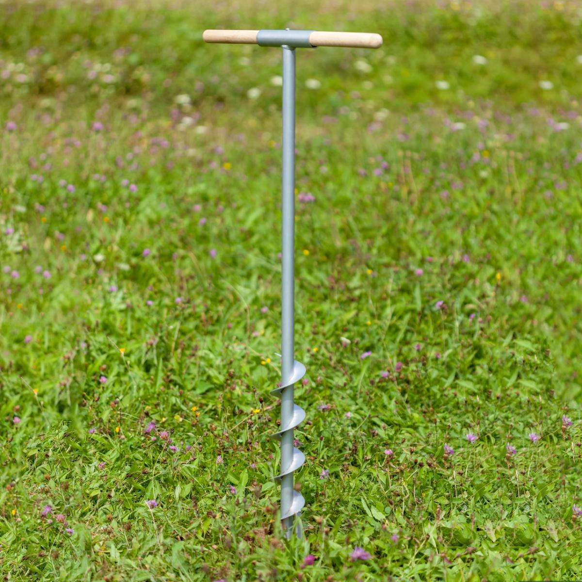 Burghiu pământ Ø9 cm