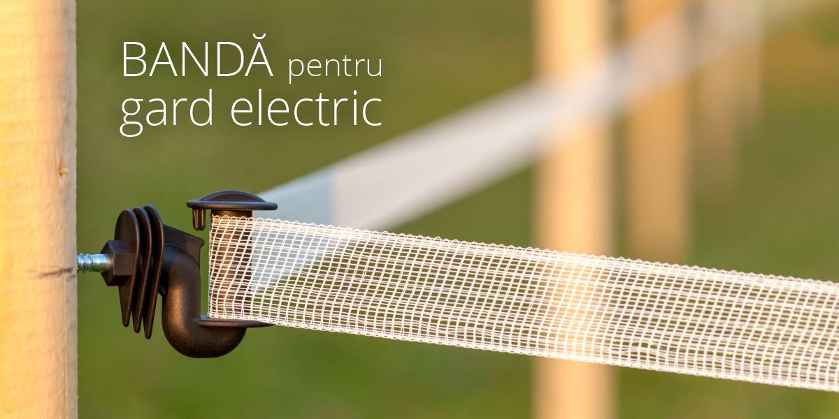 Bandă pentru gard electric