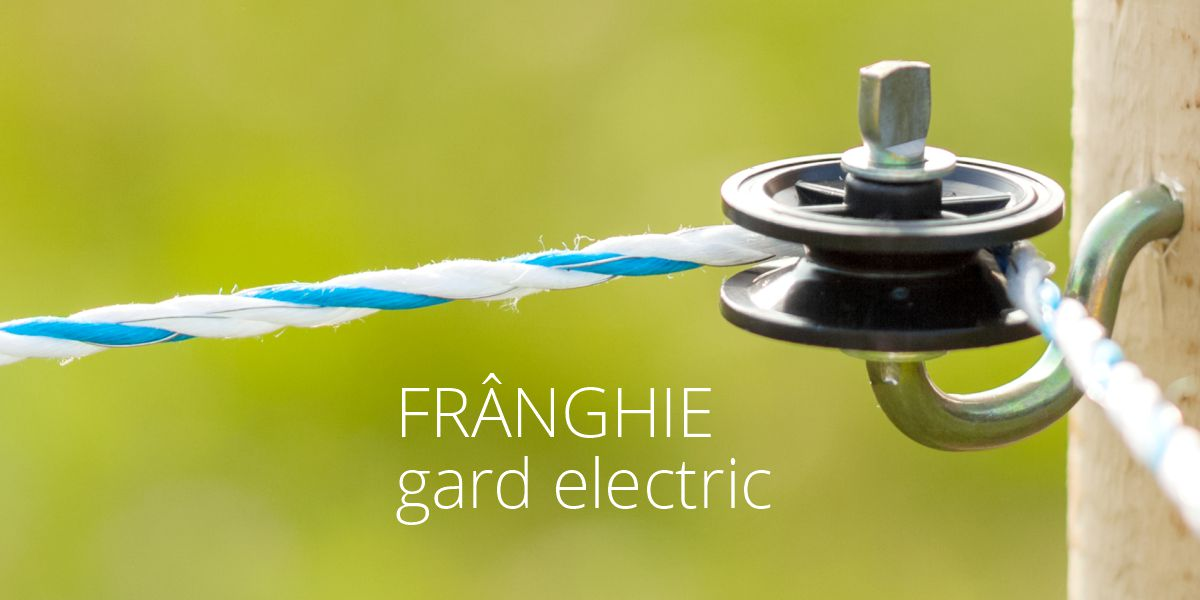 Frânghie gard electric