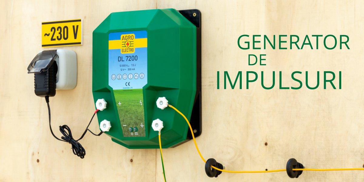 Generator de impulsuri 12 V