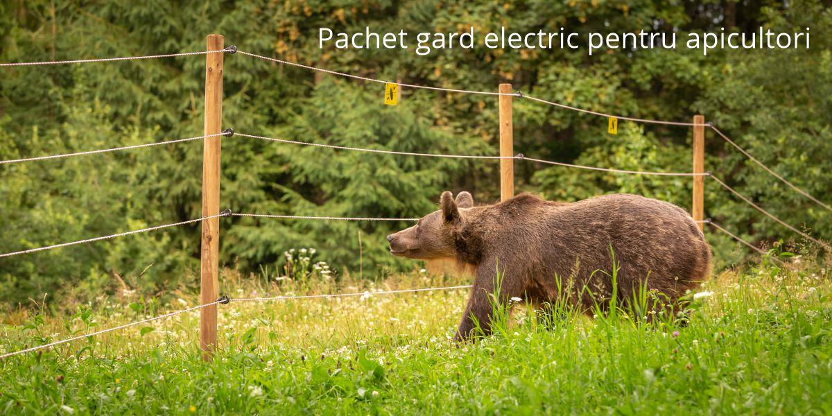Pachet gard electric pentru apicultori